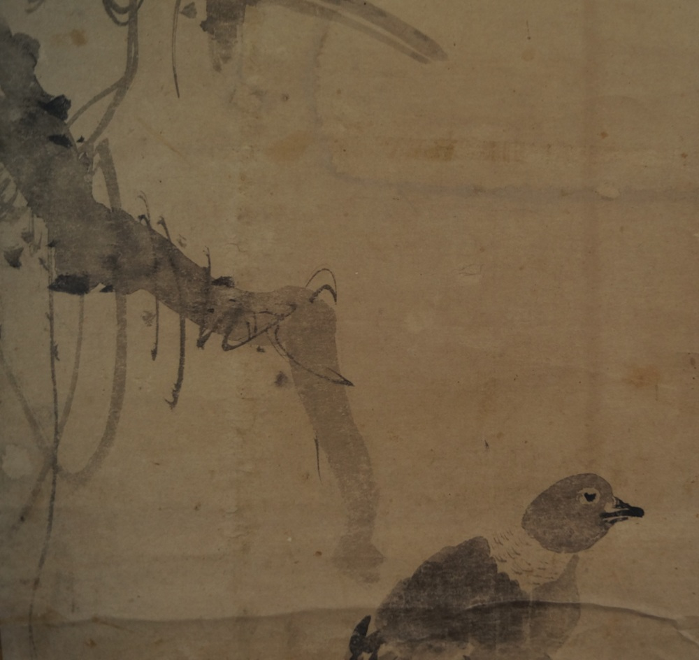 Vogel - Japanisches Rollbild (Kakejiku)