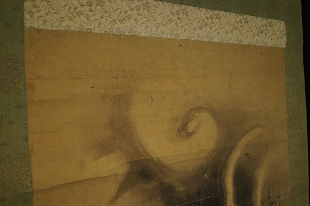 Drache - Japanisches Rollbild (Kakejiku, Kakemono)