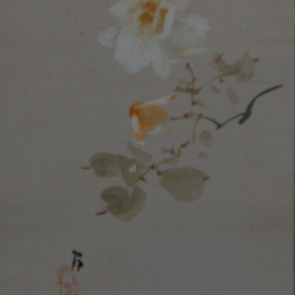 Blume - Japanisches Rollbild (Kakejiku, Kakemono)