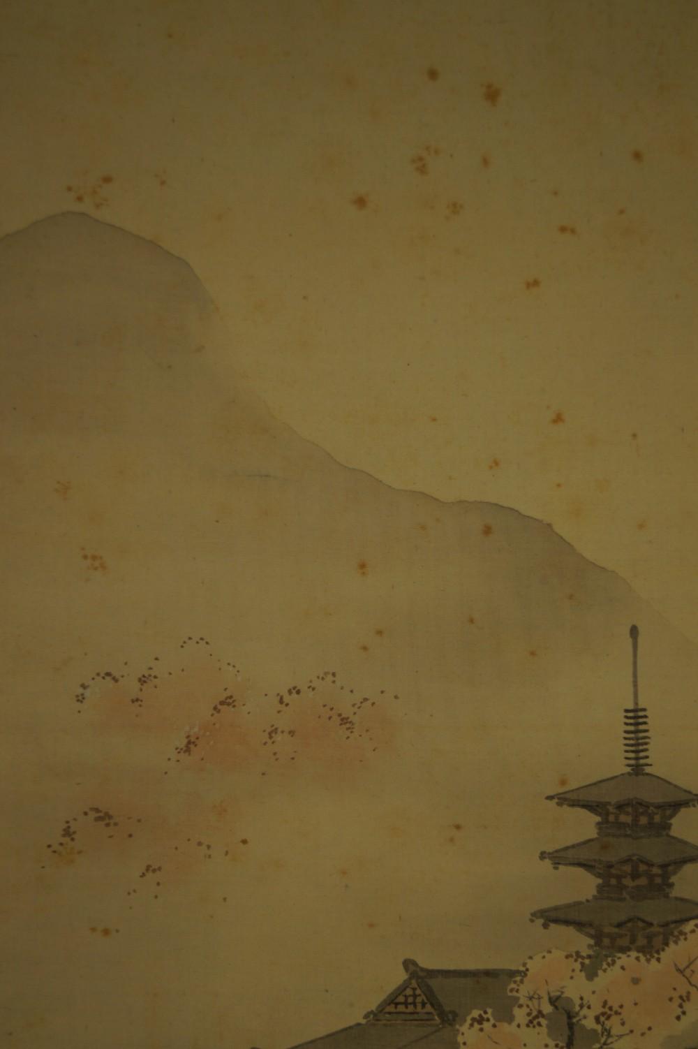Sommer - Japanisches Rollbild (Kakejiku, Kakemono)
