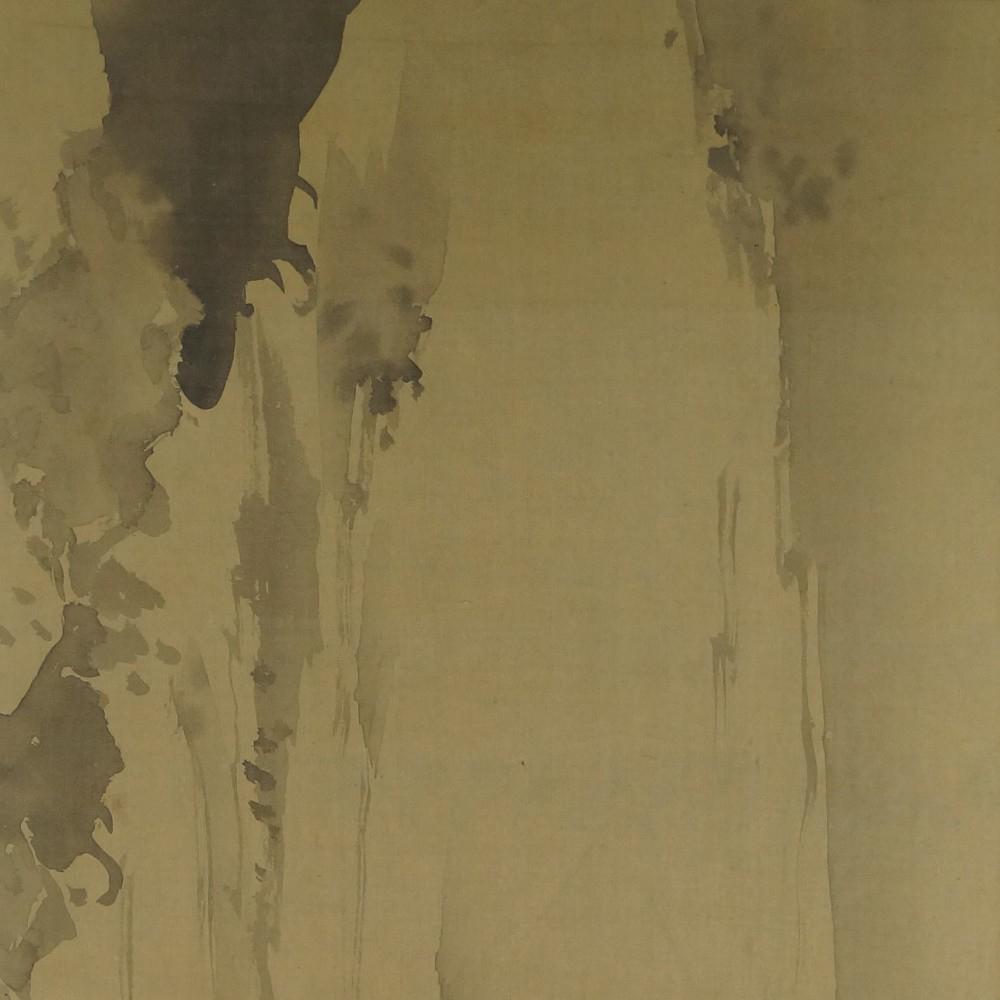 Wasserfall - Japanisches Rollbild (Kakejiku, Kakemono)