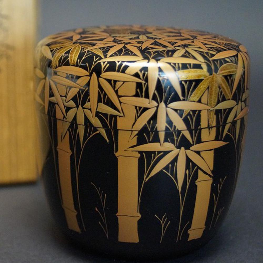Makie O Natsume - Japanischer Teebehälter  für die Teezeremonie von Keikan Tada