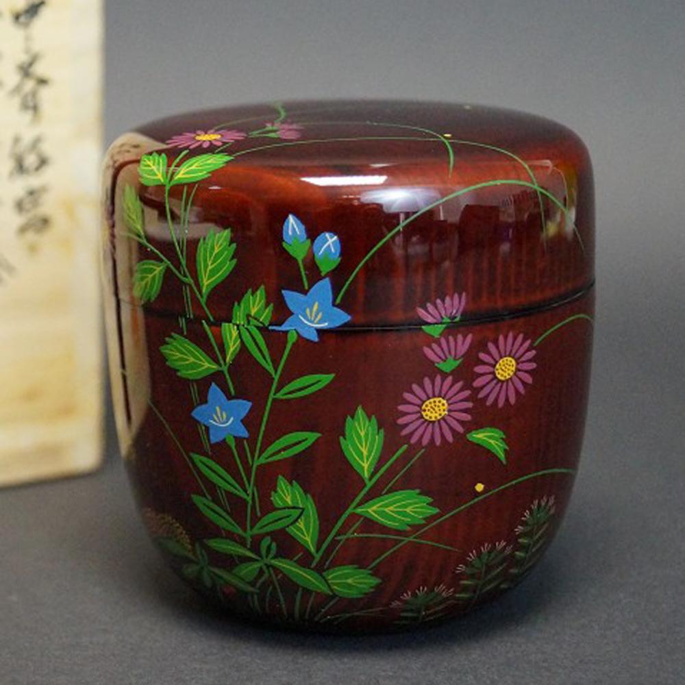 Shippo Makie Chu Natsume - Japanischer Teebehälter  für die Teezeremonie