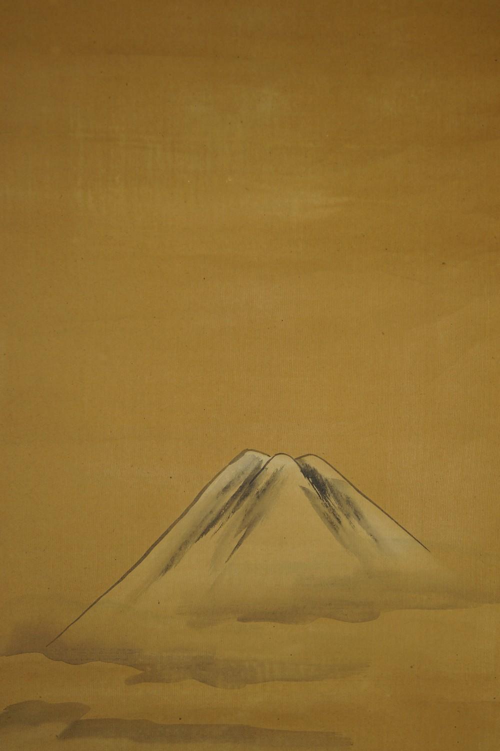 Berg Fuji - Japanisches Rollbild (Kakejiku, Kakemono)