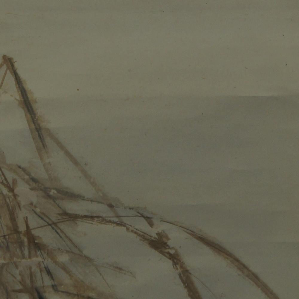 Mond - Japanisches Rollbild (Kakejiku, Kakemono)