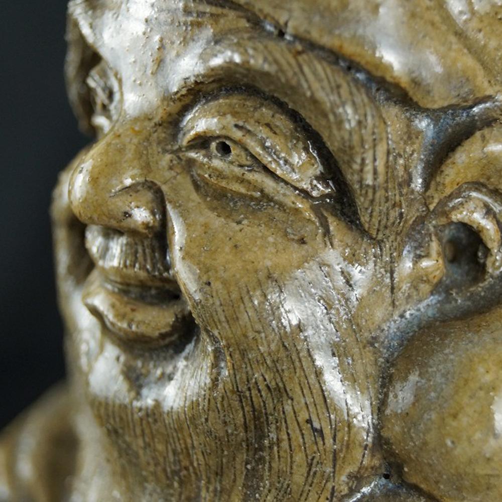 Japanische Jurojin Figur aus Keramik
