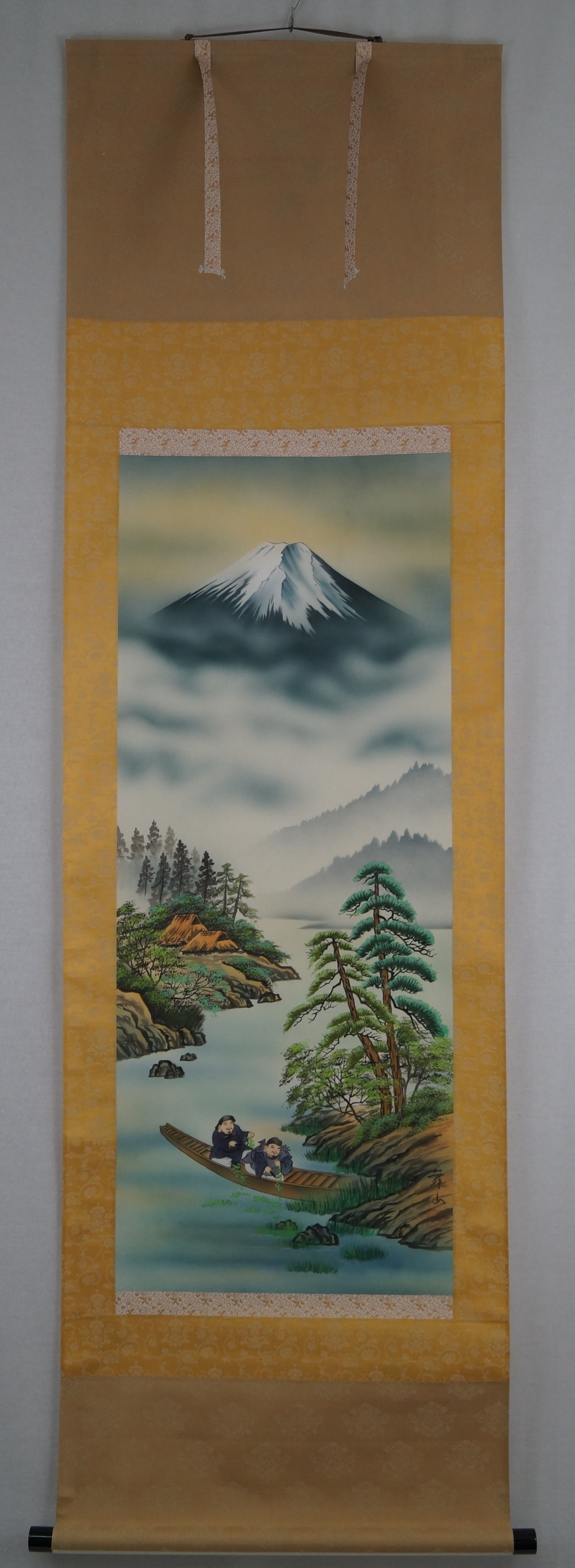 Berg Fuji - Japanisches Rollgemälde (Kakejiku)