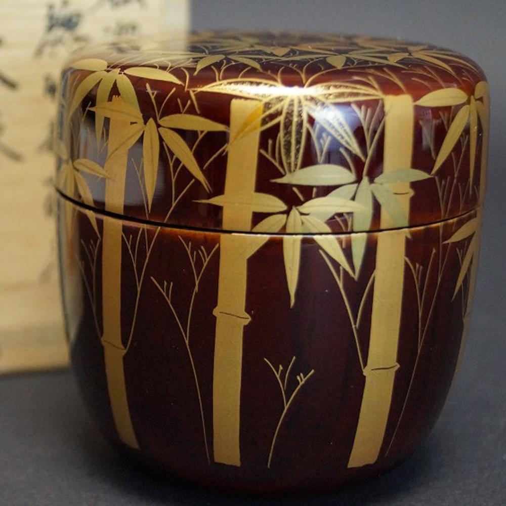 Makie O Natsume - Japanischer Teebehälter  für die Teezeremonie von Reiho Sasaki