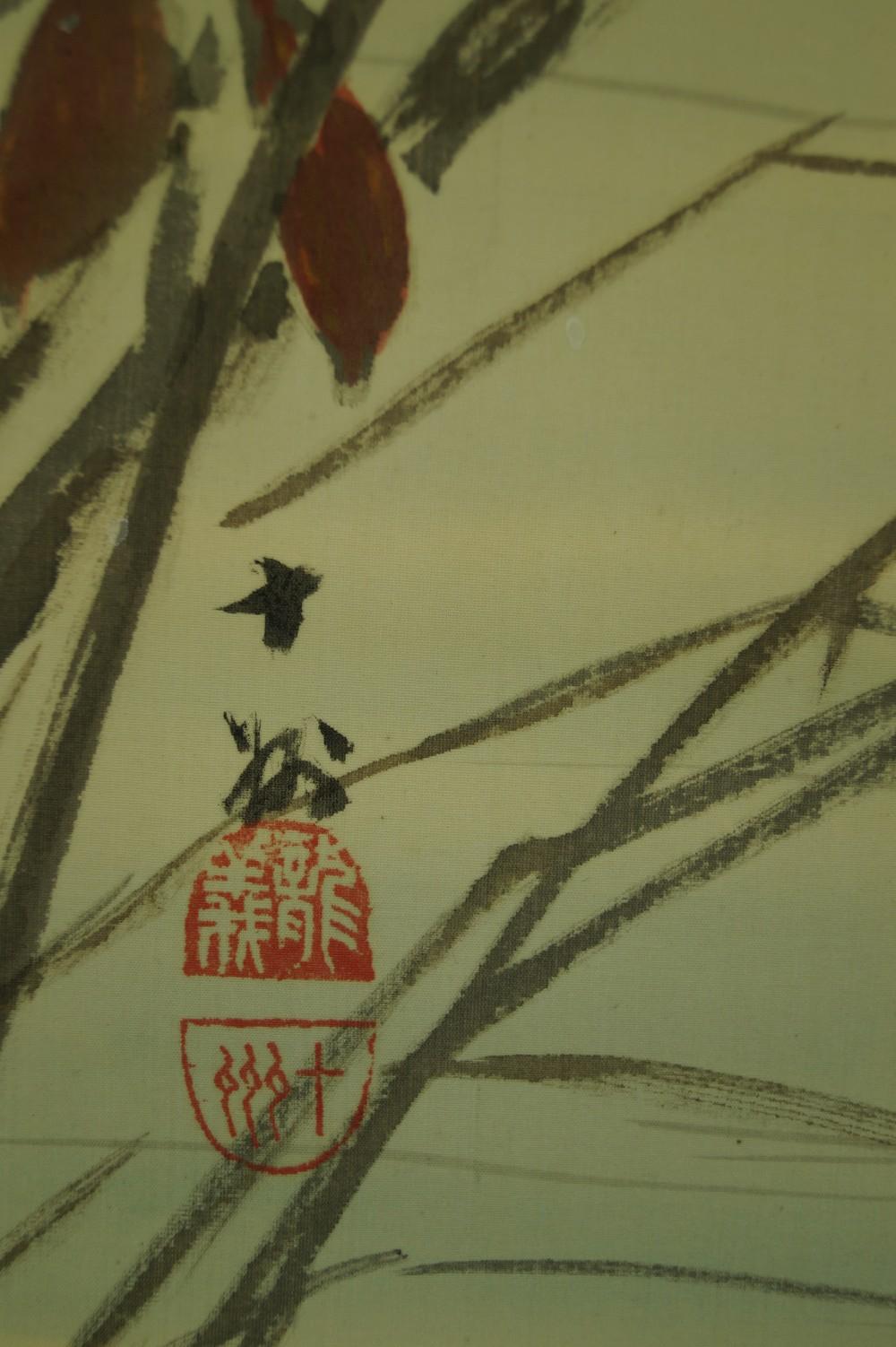 Gans - Japanisches Rollbild (Kakejiku, Kakemono)