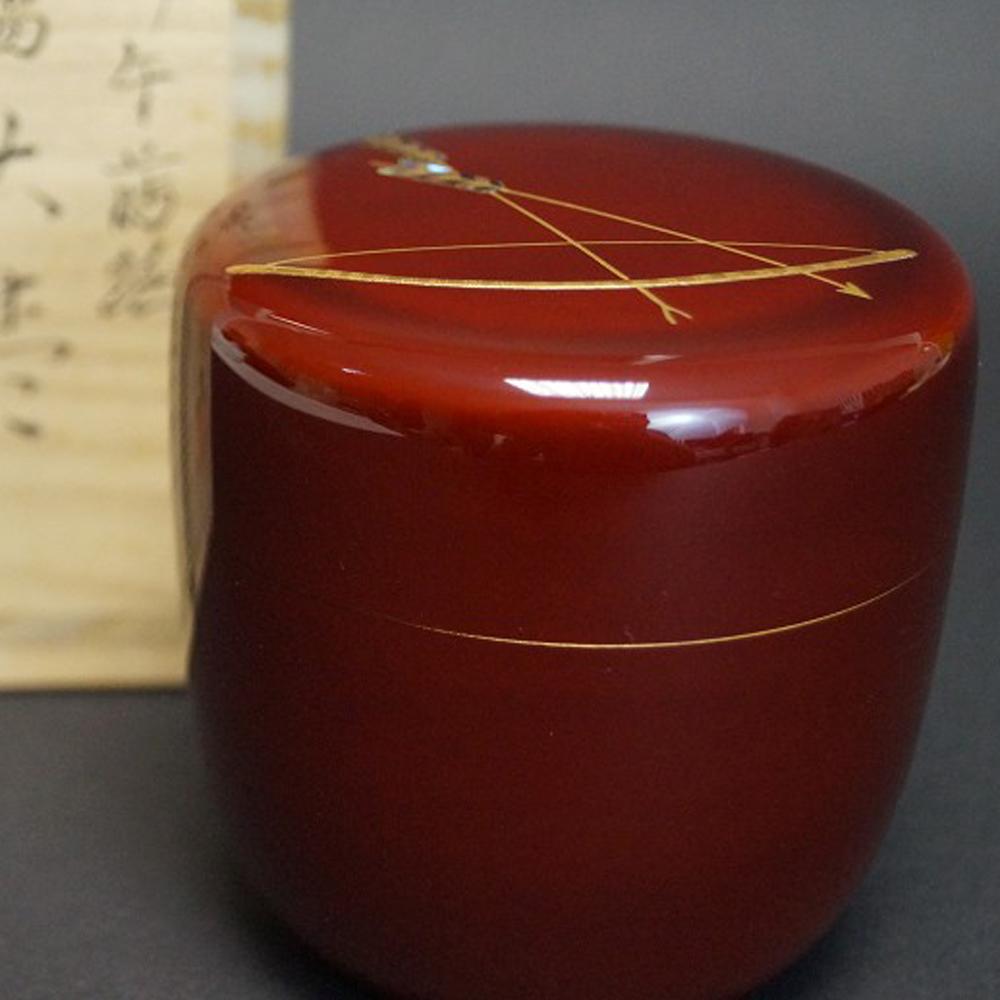 Makie Chu Natsume - Japanischer Teebehälter  für die Teezeremonie