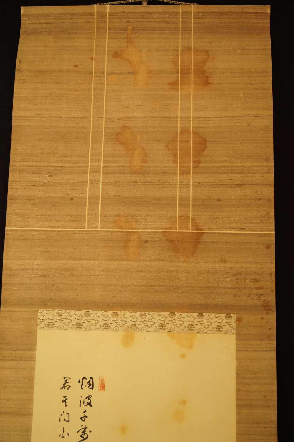 Bodhidharma - Japanisches Rollbild (Kakejiku, Kakemono)